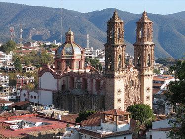 собор в таско мексика