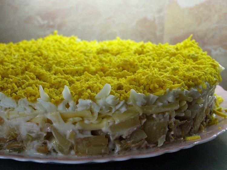 Салат ананас фото рецепт