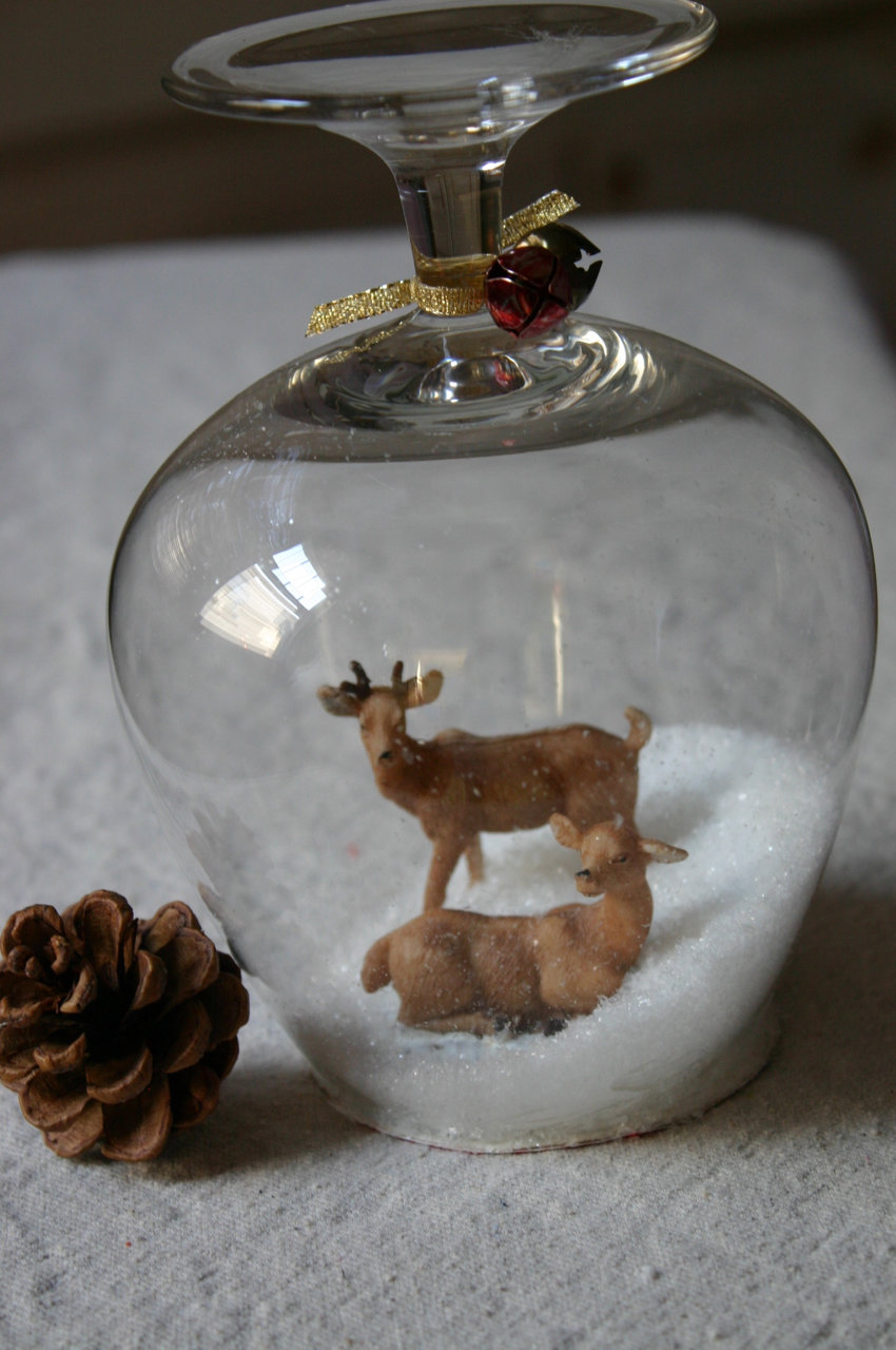 Diy Christmas Snow Globe Scene - Crafthubs
