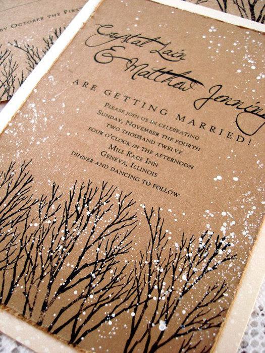 Мечтаете именно о зимней свадьбе в стиле рустик? Мы расскажем, как ее устроить!