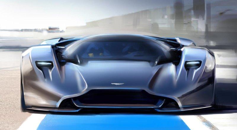 Концепт-кар Aston Martin DP-100