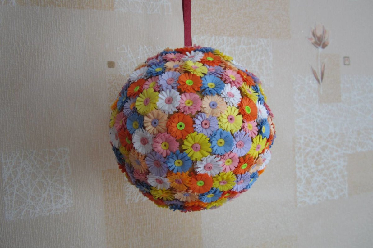 поделка из воздушных шаров и ниток своими руками непрошенные гости могут
