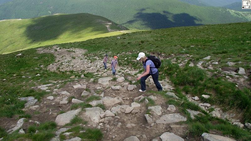 Восхождение на гору Говерла летом
