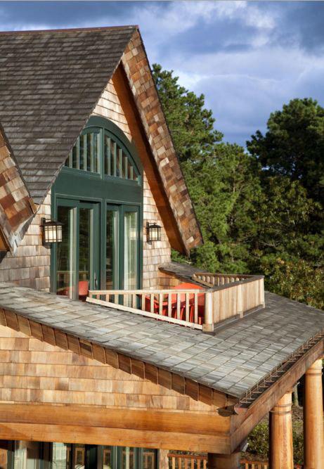 фото красивые мансардные крыши