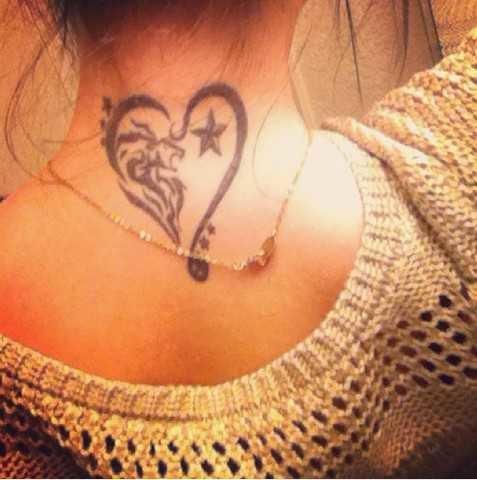 Татуировки Со Знаком Лев