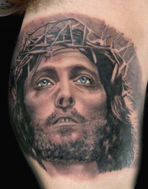 Фото самых интересных тату портретов на разных частях тела. Самые красивые татуировки людей цветные и черно-белые