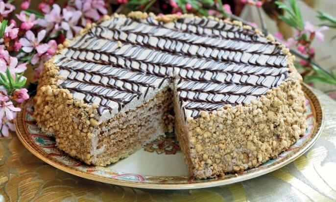 Рецепт очень вкусного торта в домашних условиях 556