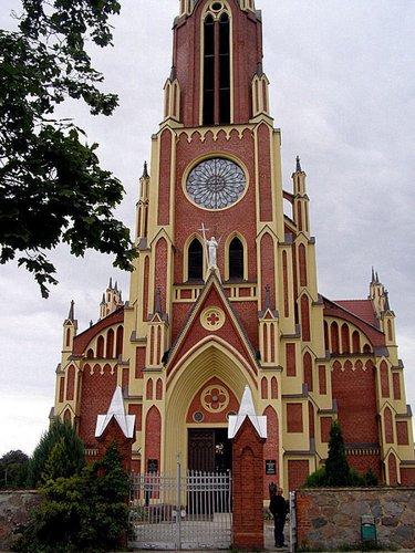 костел святой троицы гервяты