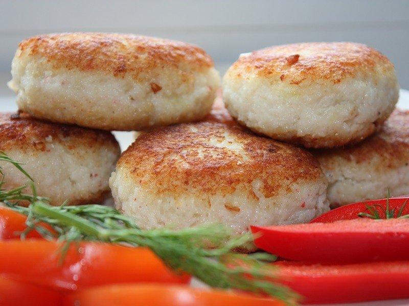 Рыбные котлеты жареные рецепт