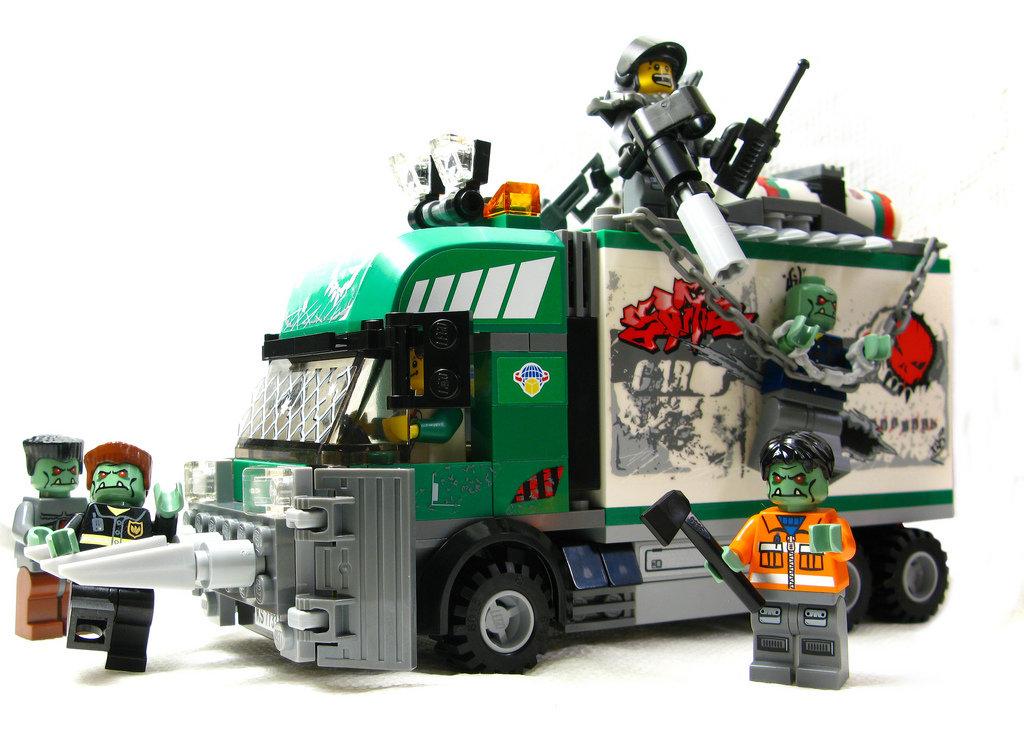 лего машины для зомби апокалипсиса заводит легко, всегда