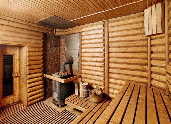 внутренняя отделка бани фото парилки и моечной