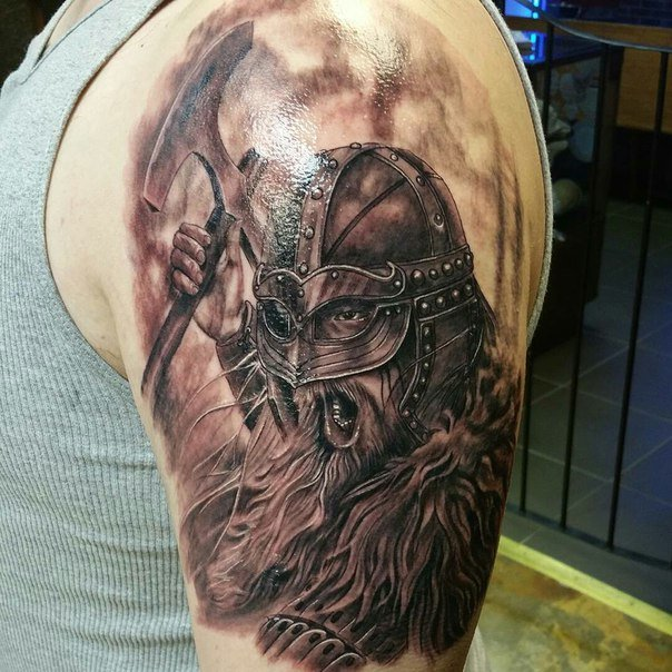 лимфыв лимфатические тату на плече викингов фото как живут