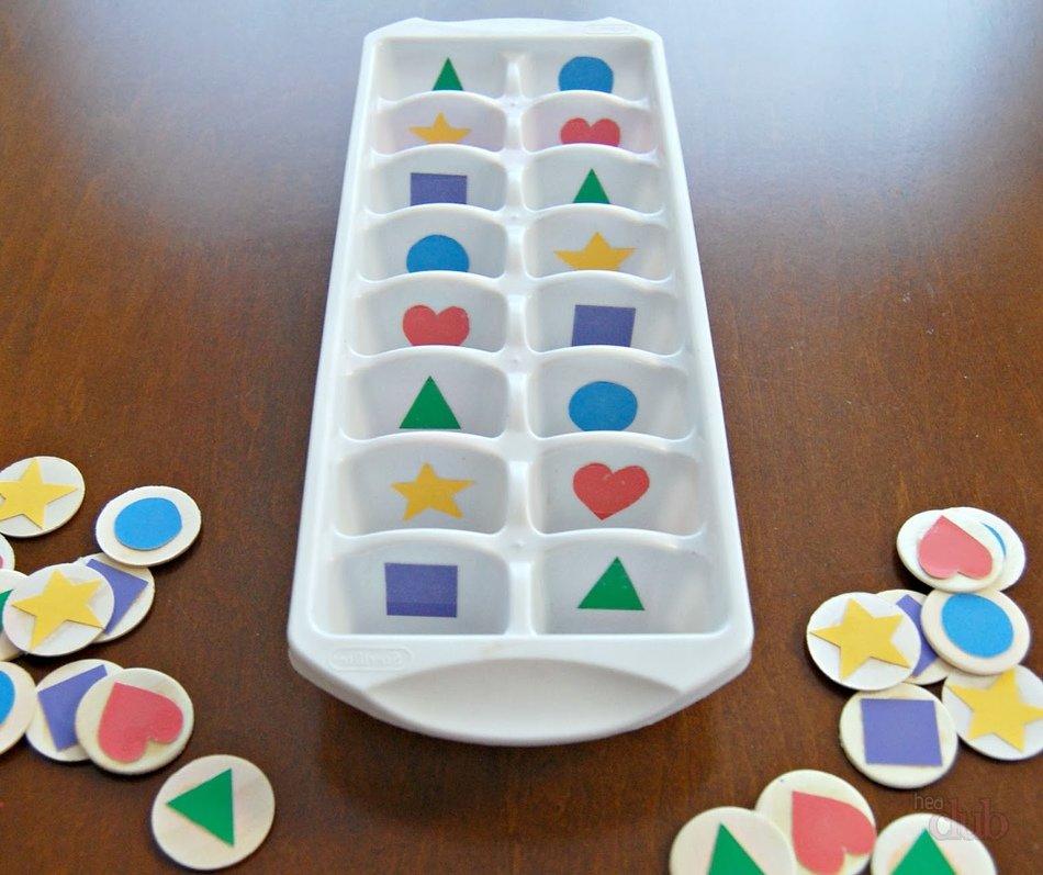 Развивающая игра своими руками для детей 2-3 лет