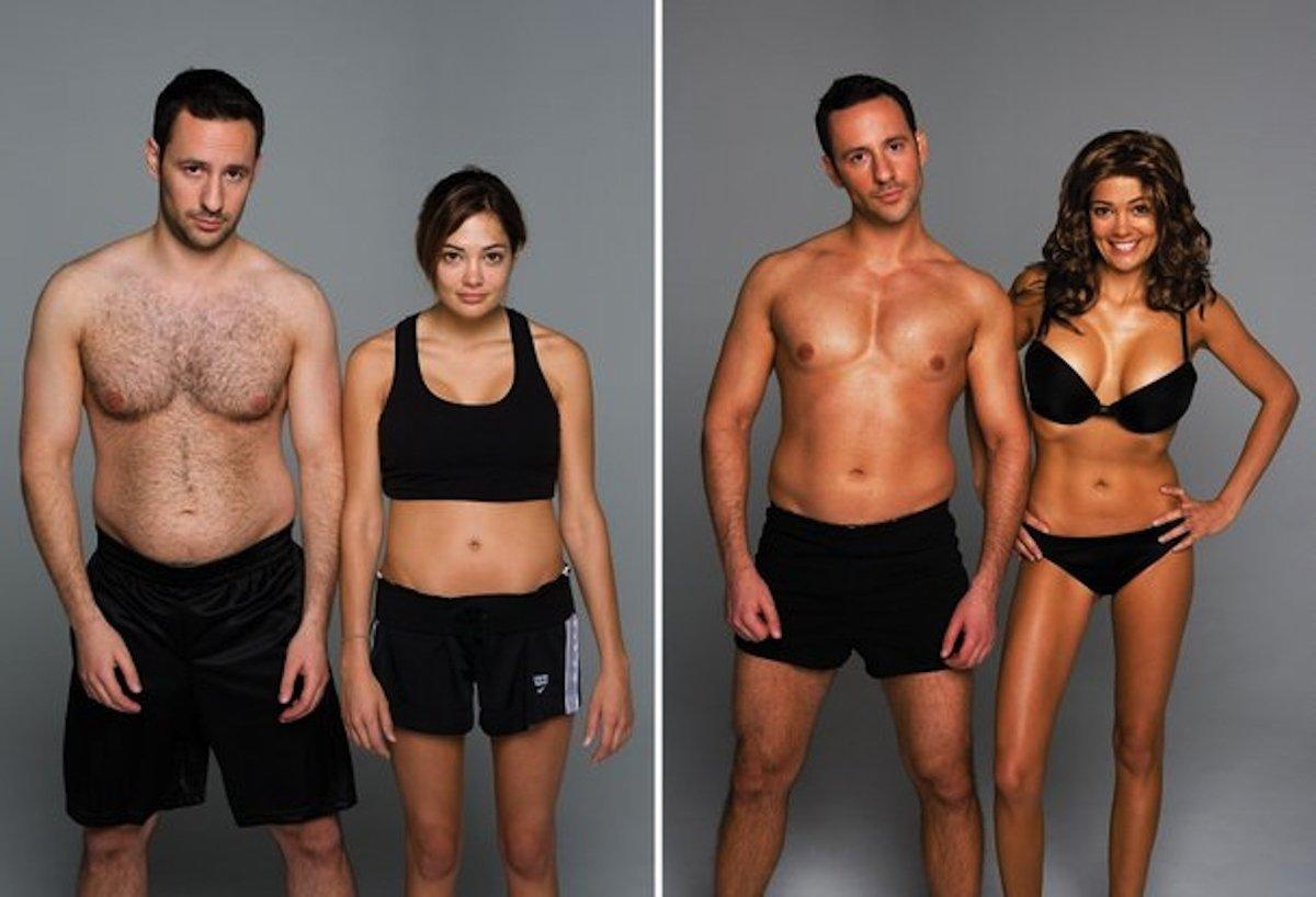 покажу фитнес до и после фото мужчины стебли обвивают