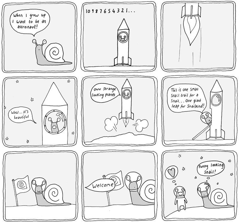 Комикс рисунки для начинающих
