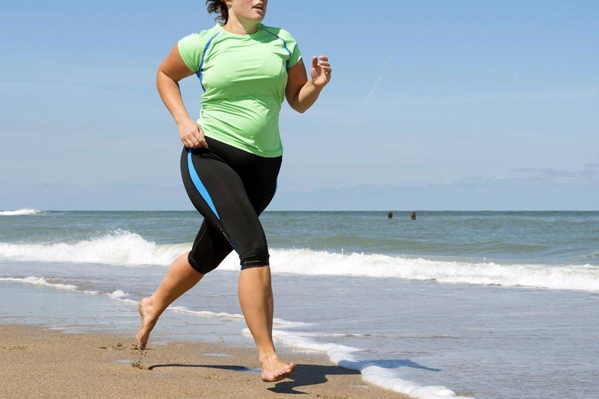 Бег Способствует Похудению.