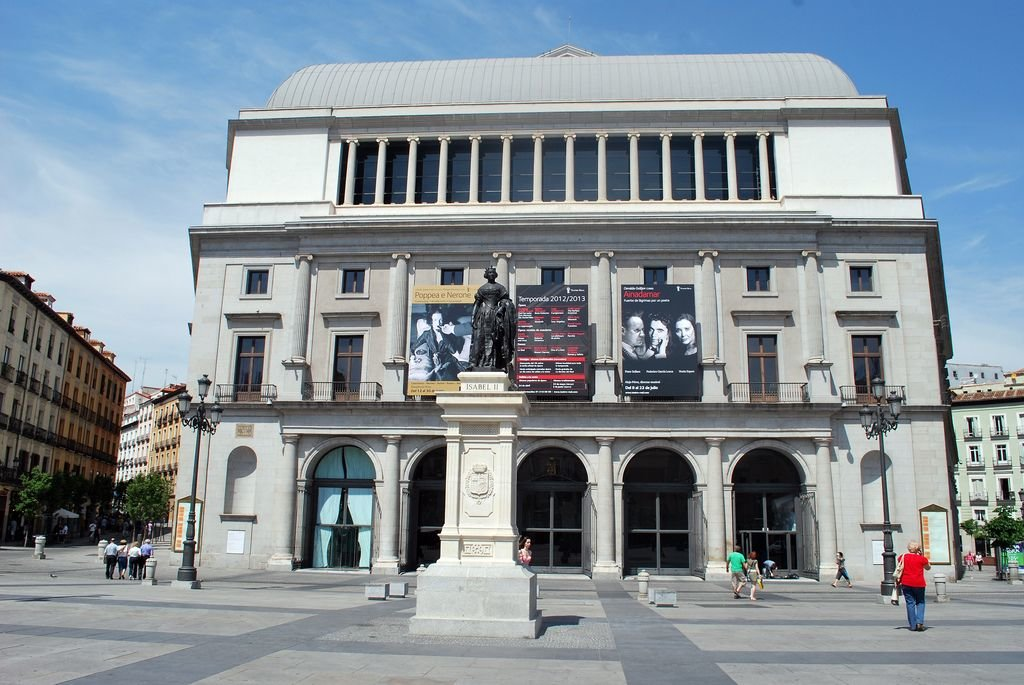 Фото театр мадрида испания