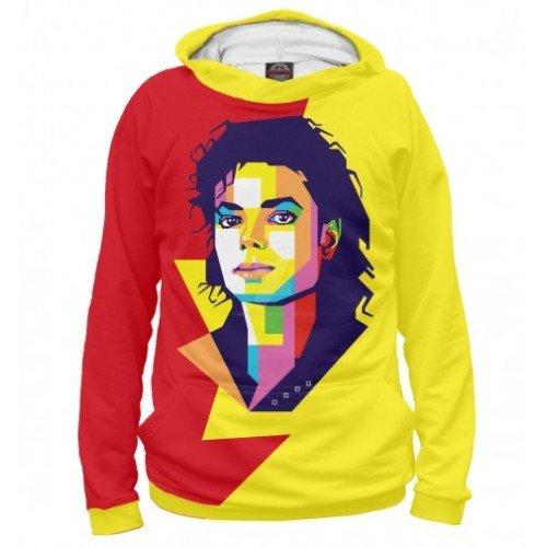 Женская толстовка 3D Майкл Джексон