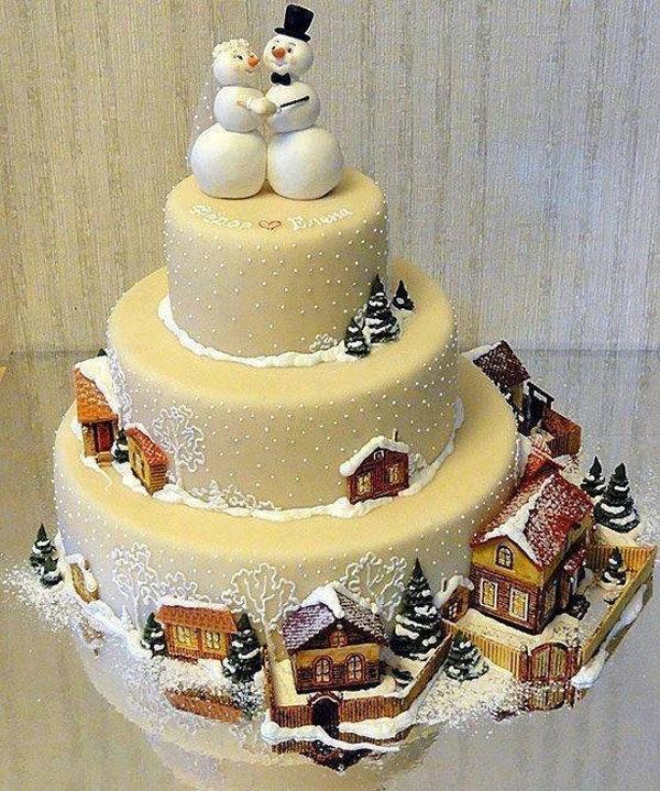 Новогодние торты готовим сами