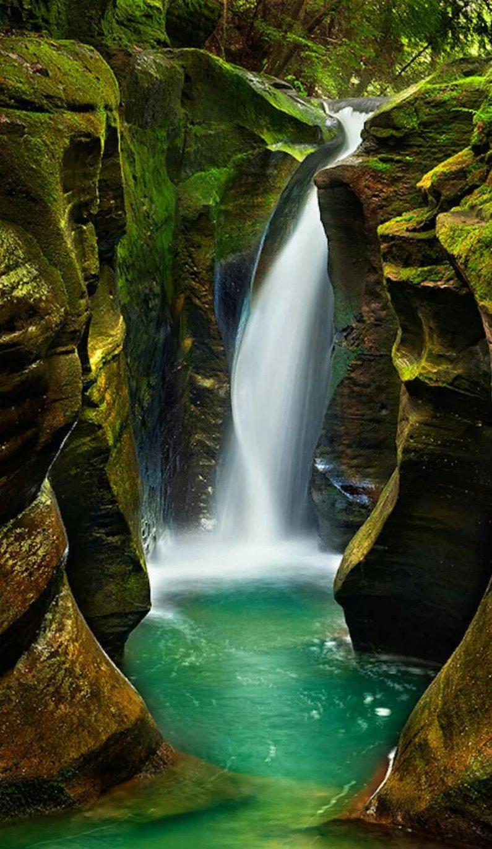 Картинки необычные водопады