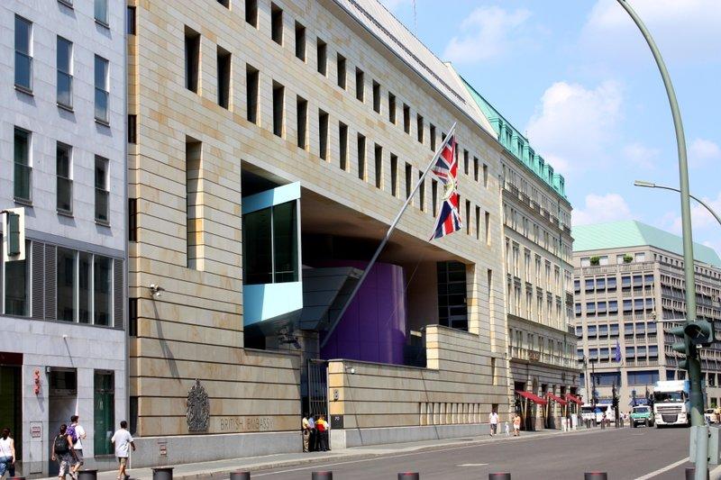 Здание посольства, Берлин