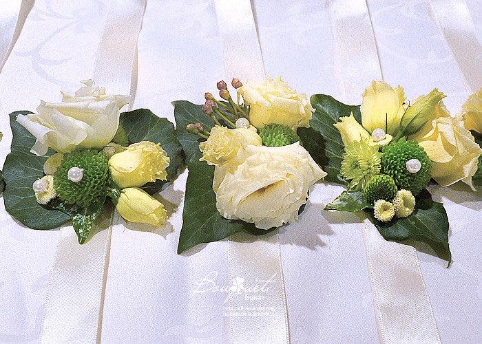 Браслетики для подружек невесты, выполненные студией Bouquet