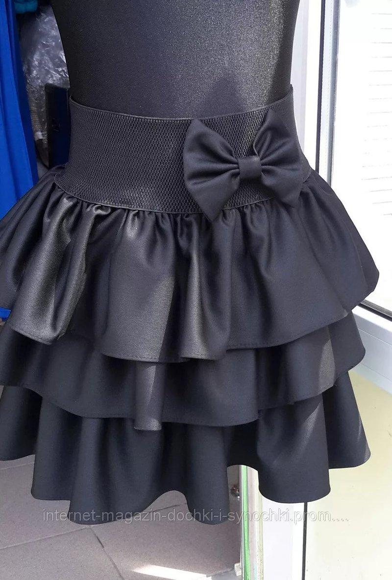 Как пошить юбку в школу
