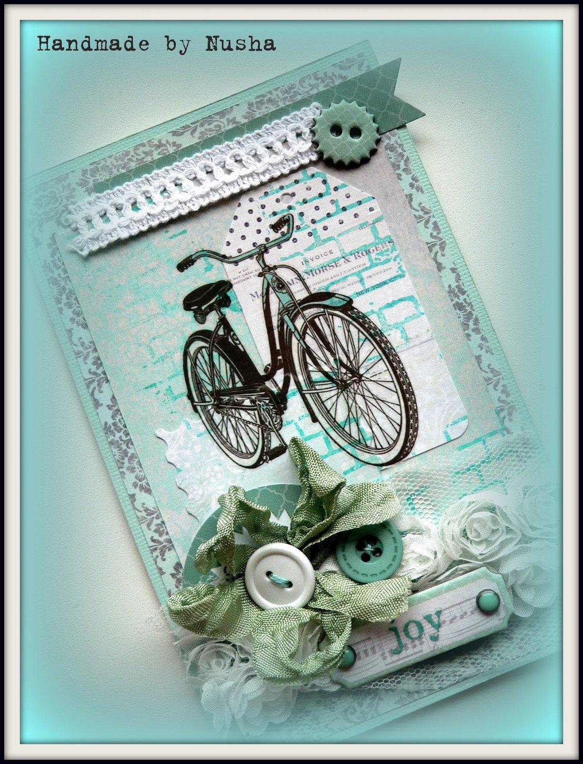Для, велосипеды в открытках скрапбукинг
