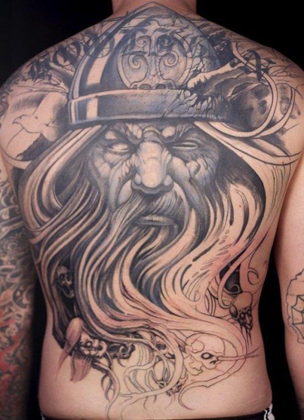 Neo Polytheist Germanic Pagan Tattoos Vikings Tattoos - 550×665