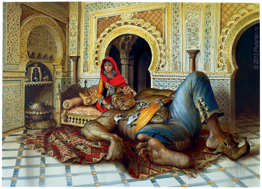 картинки с арабскими сказками блюд кижуча