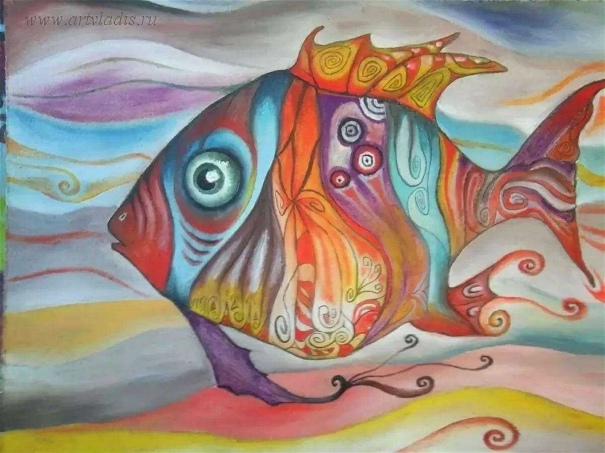картинки рыба художника корабле было