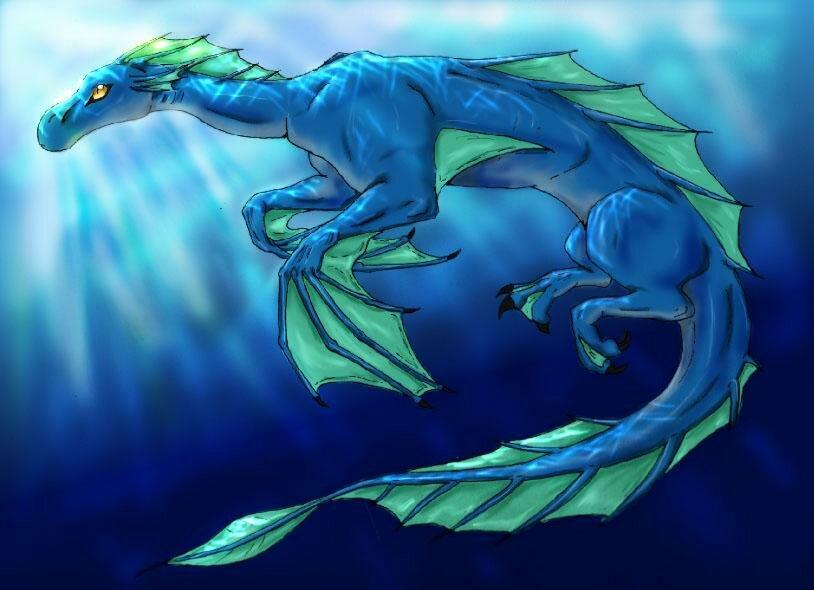 Картинки про водяного дракона