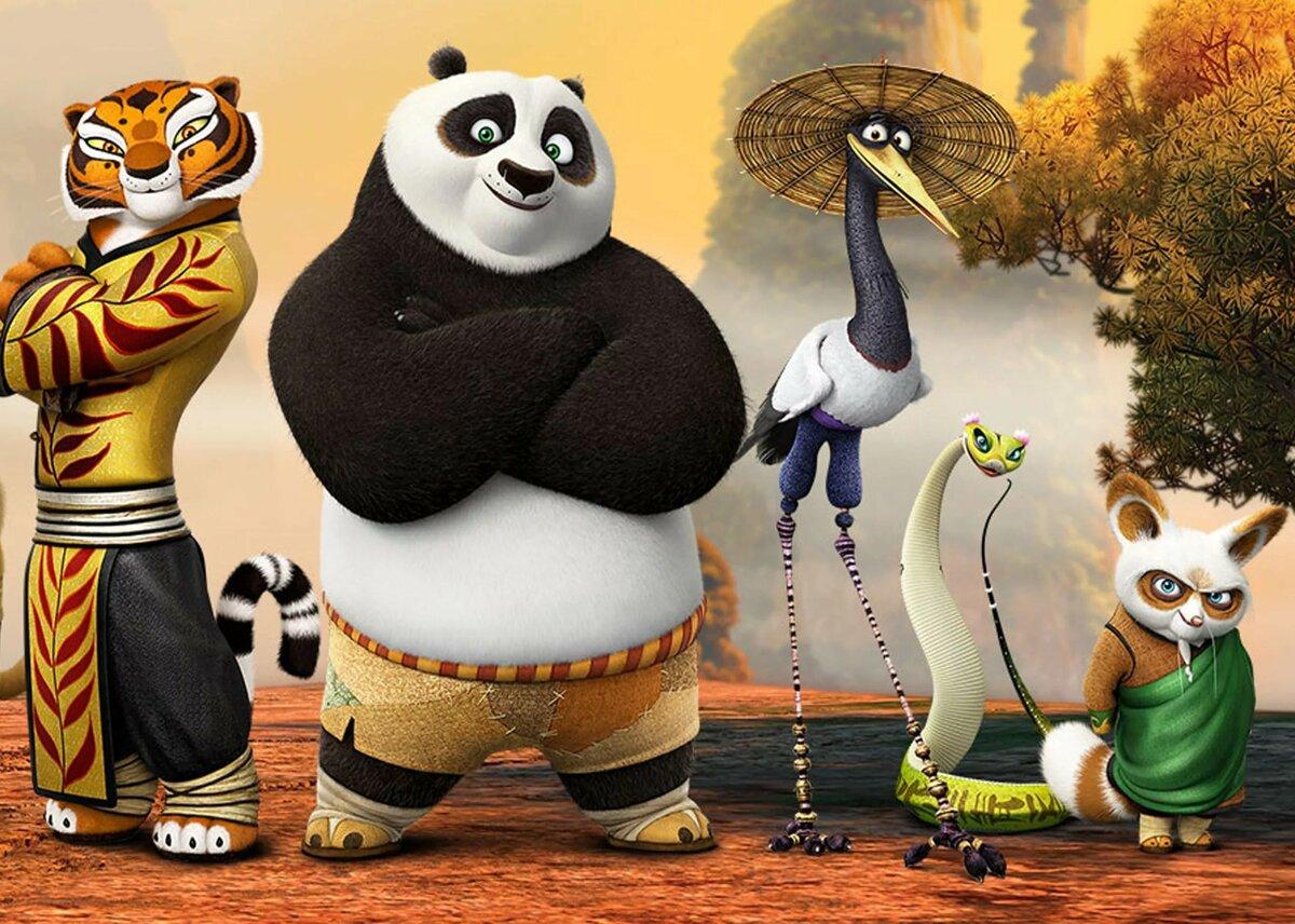картинки поз кунг фу панда продуманный дизайн спортзала