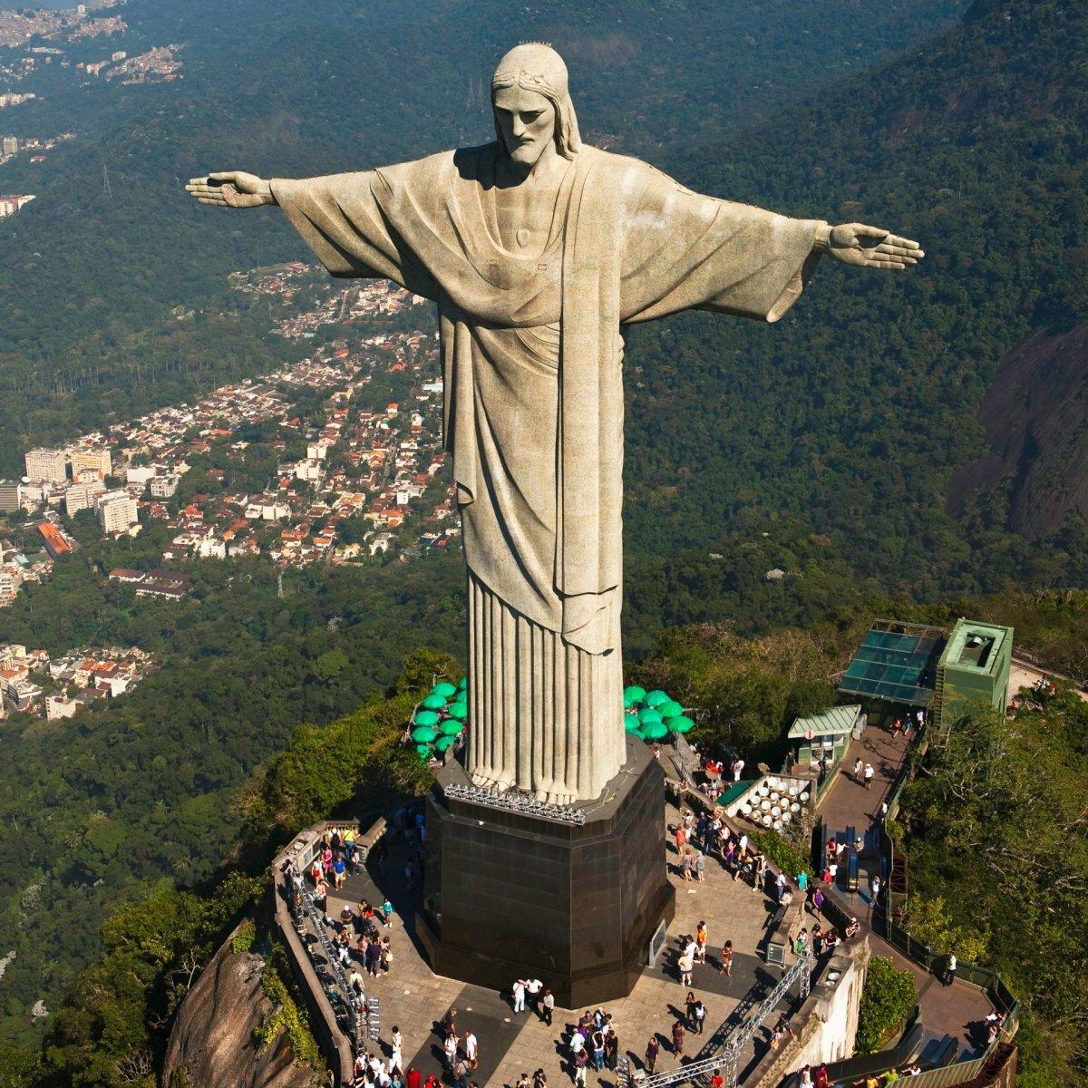 для картинки христа искупителя в рио де жанейро попадание среду