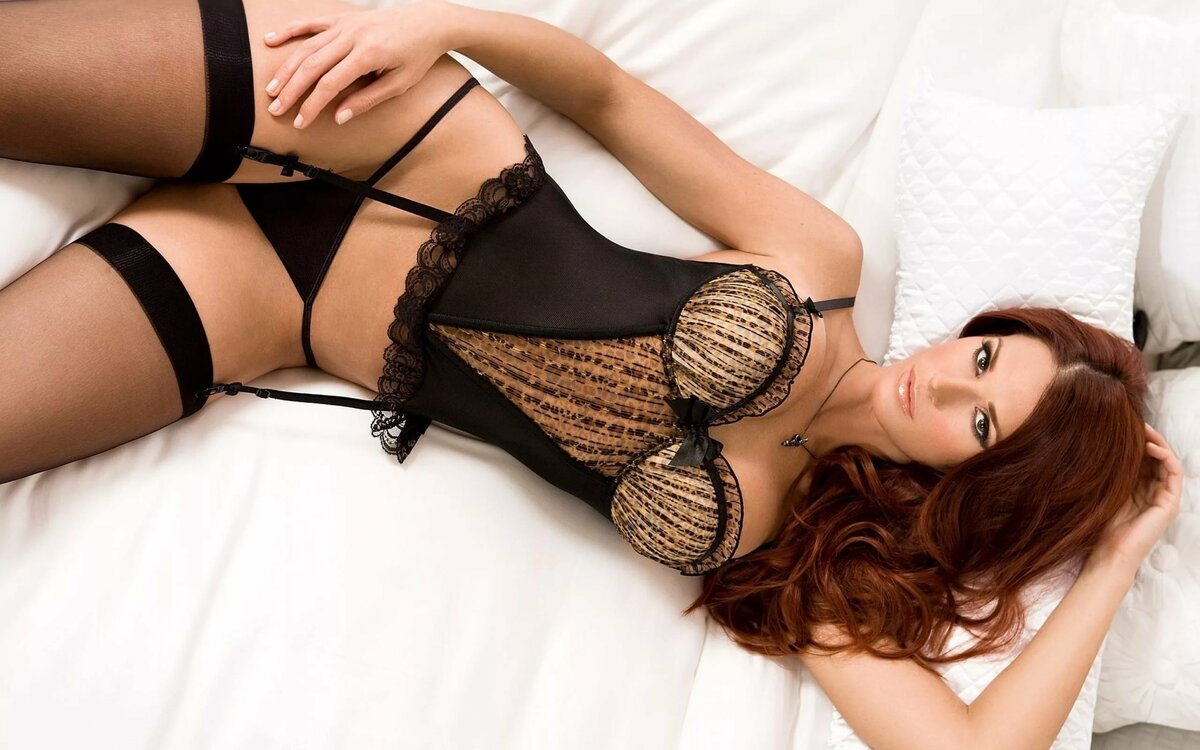 Sex lingerie model escort