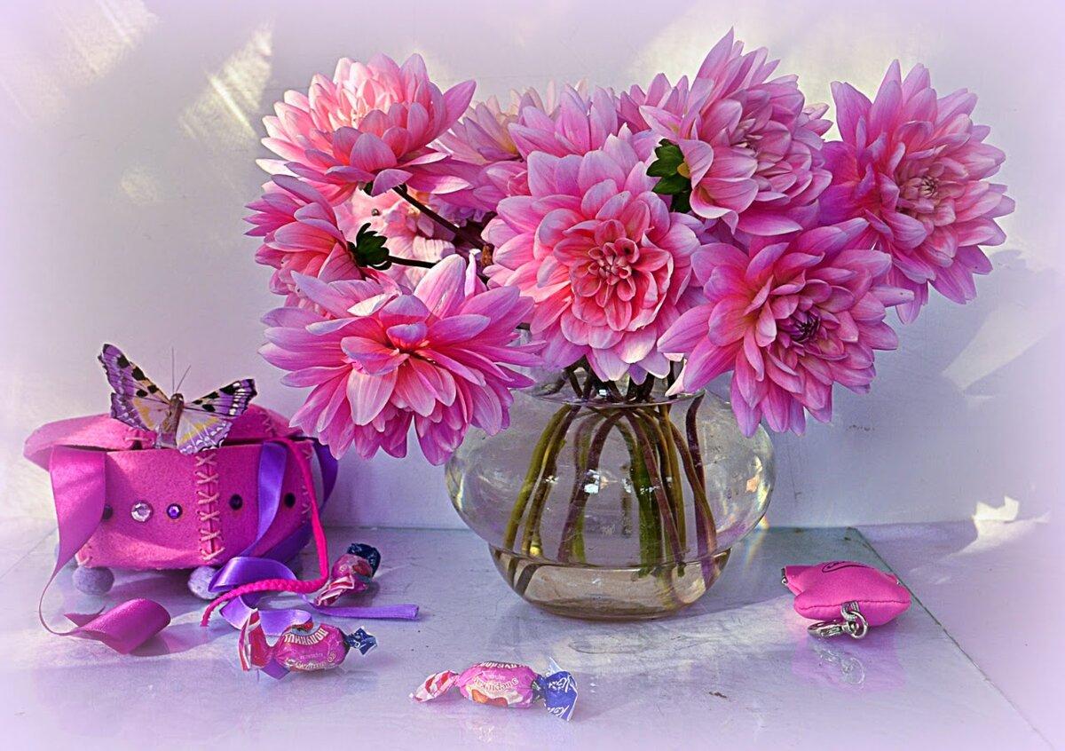 доброе утро картинки красивые с цветами и пожеланиями гиф любого
