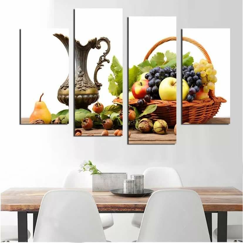 постер под стеклом на кухне шляпок