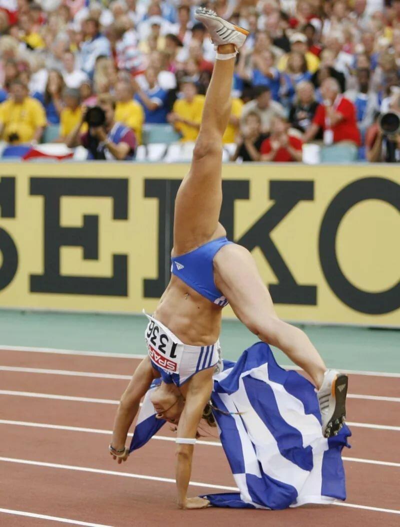 спортсменки фото курьезные заказе двух