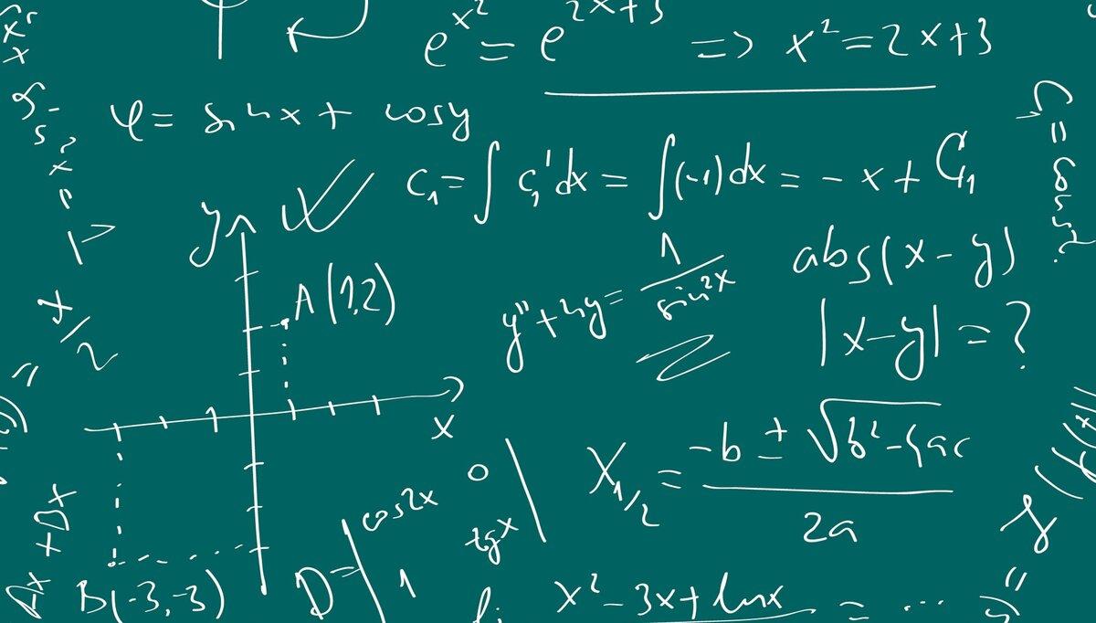 Картинка фон математика для детей