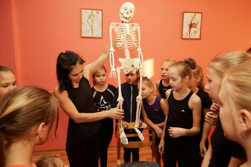 Занятия по основам анатомии для танца в клубе Дуэт