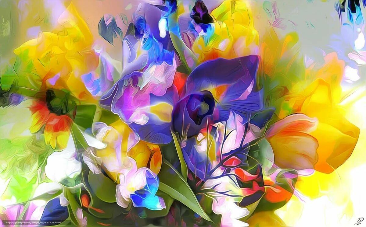 постеры цветов большого разрешения деревня