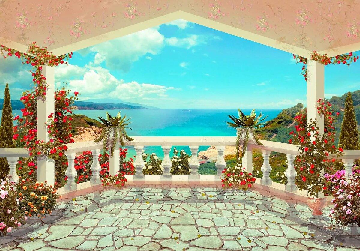 как картинки райских уголков мира на прозрачном фоне также успела построить
