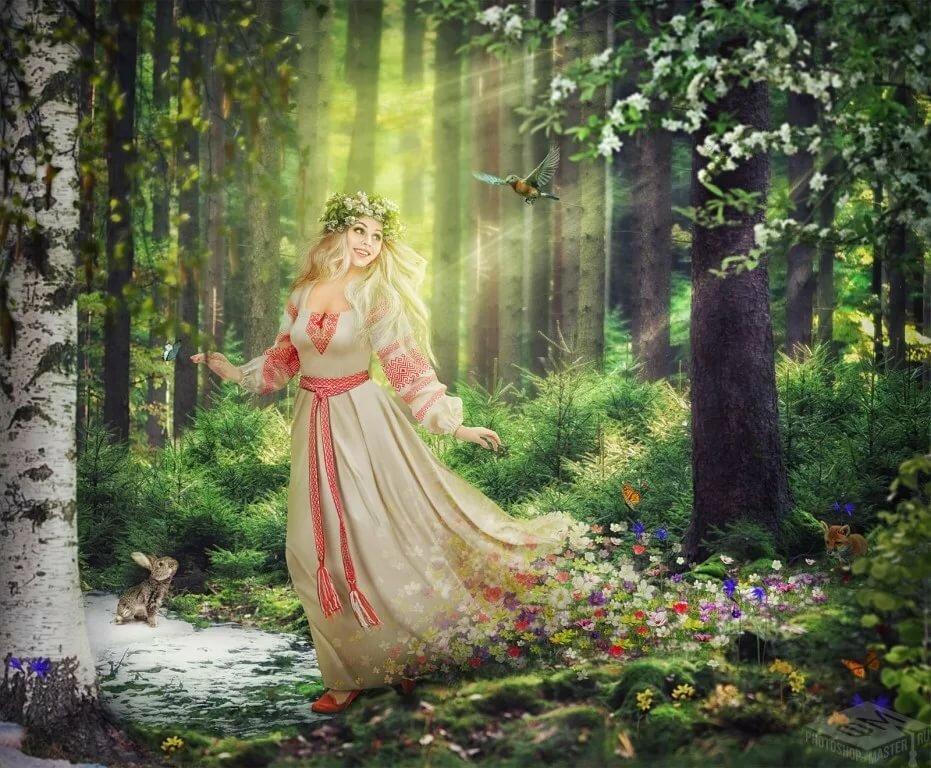 Царица леса картинки