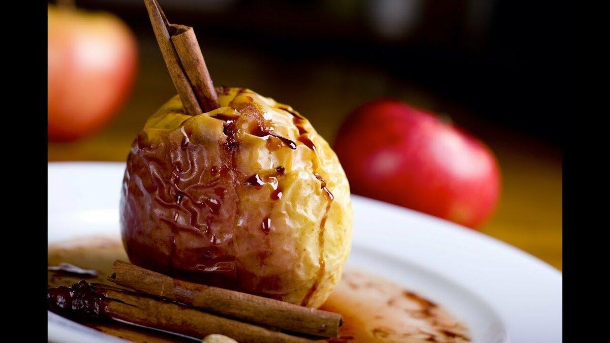 Похудение печеное яблоко