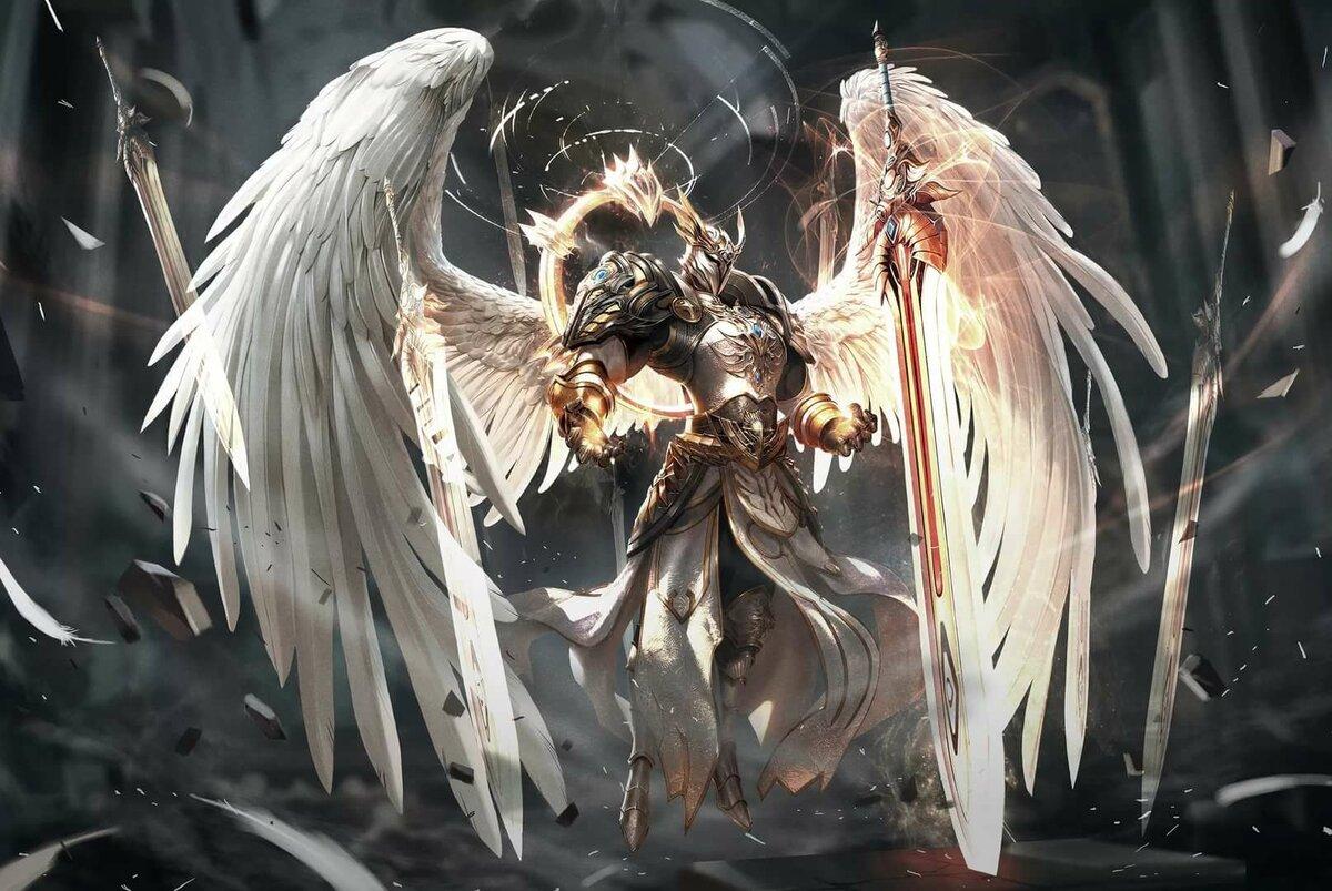 эпичные картинки ангелов странно, многих стилях