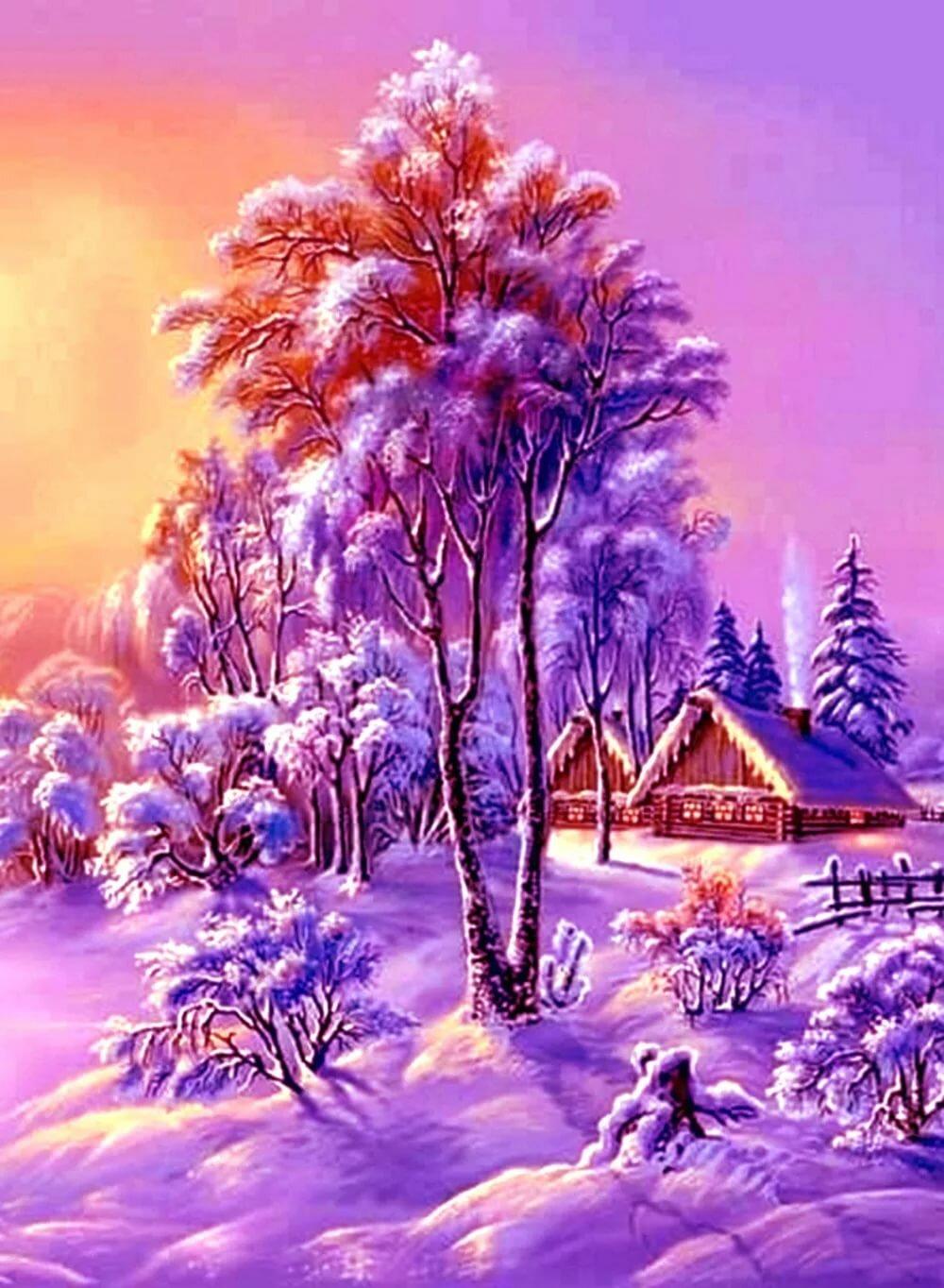 картинки на телефон природа зима движущиеся вам веры