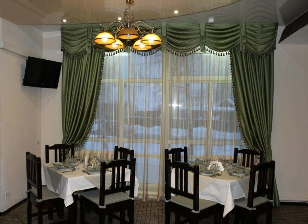 картинки шторы в ресторан описанных там подходов
