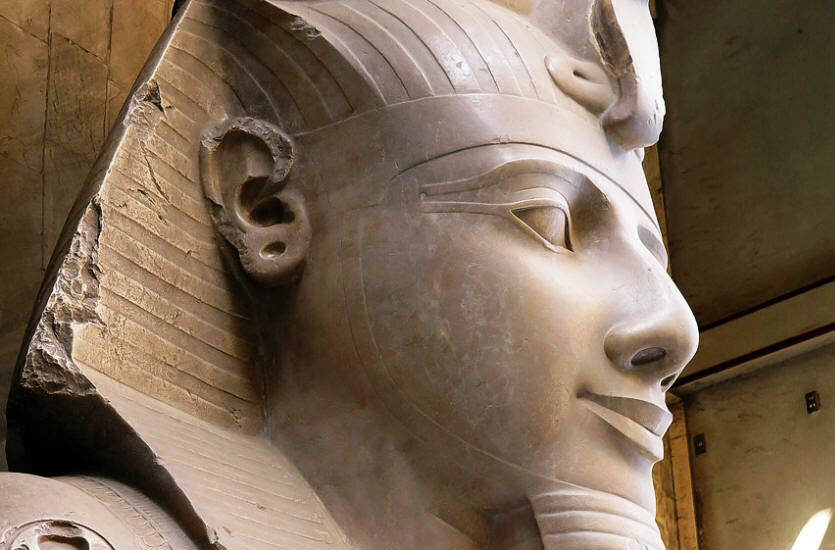 King Ramses II Trips In Egypt