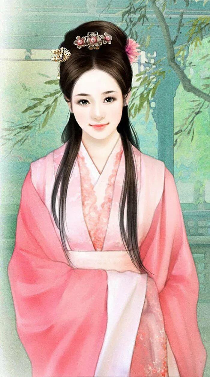 фото картинка китаянка рисунок того, как
