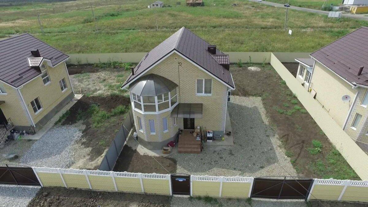 строительство дома на 4 сотках